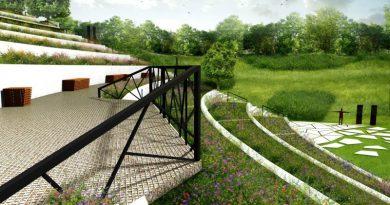 Opuszczony amfiteatr na poznańskiej Cytadeli zostanie zamieniony w ogród dla pszczół