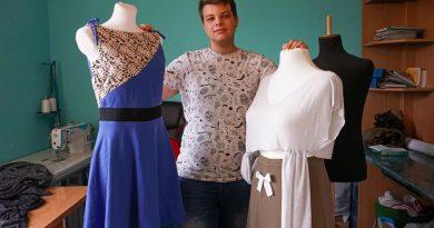 19-letni krawiec daje drugie życie używanym ubraniom