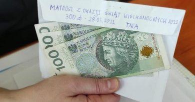 Mateusz odzyskał swoje pieniądze